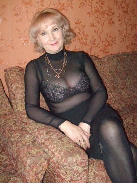 Noch im Alter Geschmack für erotische Mode